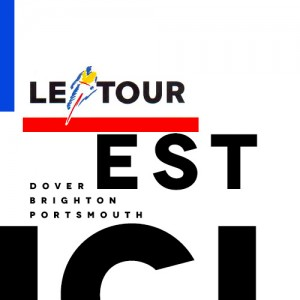 UK Stages Le Tour de France logo 1994