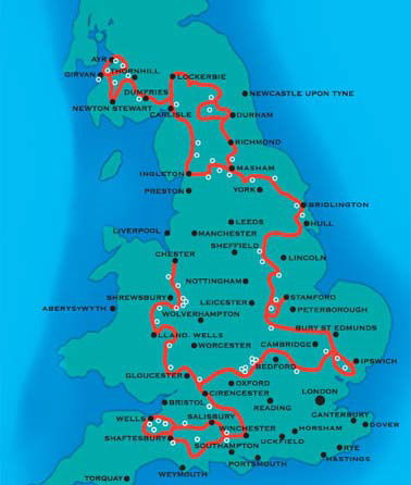 The National Byway Map